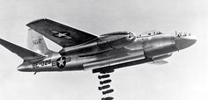 North American B-45 Tornado, America's first strategic jet bomber ... Shown here Buzz Number BE-025