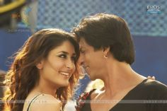 Lovable scene of Kareena and Shahrukh