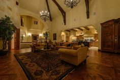 This 4-acre beautifully landscaped property in Austin, Texas includes a truly majestic residence called Castle in the Woods. It is a stunning building with 7 bedrooms, 5 full bathrooms, 5 partial baths, and a total of over 13,600 square feet of space. It flaunts a superb Moorish pointed architecture style and elegant interiors that ooze luxury and grandeur.