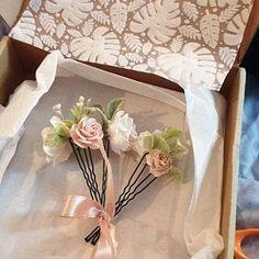 Coryn Roadknight added a photo of their purchase Wrist Corsage Wedding, Flower Headpiece Wedding, Bridesmaid Corsage, Blush Wedding Flowers, Flower Crown Wedding, Blue Bridesmaids, Baby Flower Crown, Floral Crown, Navy Blush Weddings