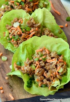 PF Changs Lettuce Wraps~this super easy copycat recipe is unbelievably delicious, healthy and ready in 20 minutes! I love Copycat recipes. They're seriously one of my favorite things out there. They do so much good for a family.They reduce the cost of eating out, and allow you to make a restaurant dish healthier and oftentimes …