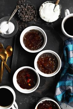 This Chocolate Crème Brûlée is a rich and show-stopping dessert, flavored with just a tad of coffee and cinnamon to bring out the most chocolate flavor!