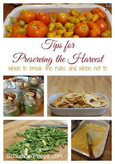 Preserving the harvest doesn't have to be overwhelming or boring. Here are some tips to help you make the most of your efforts.