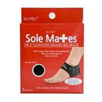 These are the newest greatest invention to cure dry cracked heels. Slip the Sole Mate over your foot and feel instant relief from cracked heel pain! Buy them on their website www.buysolemates.com or www.amazon.com