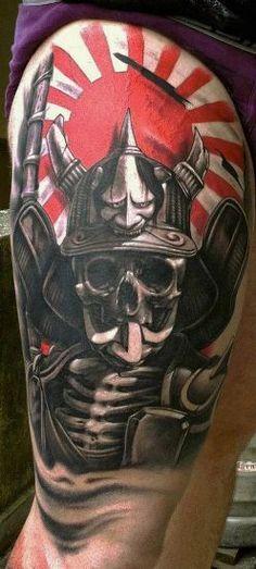 japanese warrior tattoo - Google Search