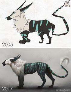 Ilustraciones demostraron que con paciencia y talento todos son artistas