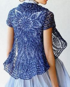 Free Patterns for Cardigans   Free Crochet Sweater Patterns   Elegant Crochet Sweaters: Crochet Lace ...