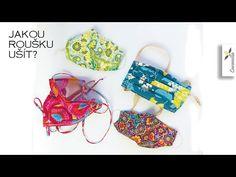 Jaká rouška je nejlepší? Jaká je na šití nejrychlejší? | Srovnání roušek - YouTube String Bikinis, Sewing, Youtube, Swimwear, Diy, Crafts, Bags, Mascaras, Crowns