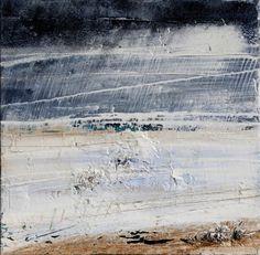 Armando Fettolini Pioggia, 2014 polimaterico su tavola cm 45×45