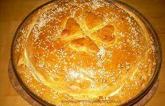 Κρεατότουρτα (χανιώτικη πασχαλινή κρεατόπιτα) - cretangastronomy.gr Cute Food, Good Food, Yummy Food, Lamb Pie, Cream Crackers, Easter Lamb, Savory Muffins, Greek Recipes, Uk Recipes