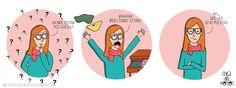 Ese pánico cuando no encuentras las gafas.  © Todos los Derechos Reservados