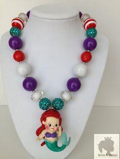 Disney Princess Inspired Chunky Necklace..Chunky by GirlzNGlitter, $19.00