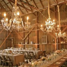 country themed reception