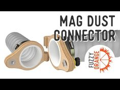 Dust collection system QUICK connect DIY | MagJig - YouTube Dust Collector Diy, Dust Collection, It Works, Connection, Woodworking, Youtube, Carpentry, Wood Working, Woodwork