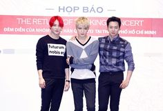 [PRESS PICS] 140829 Press Conference for 2014 JYJ Concert in Vietnam 'RETURN OF THE KING'