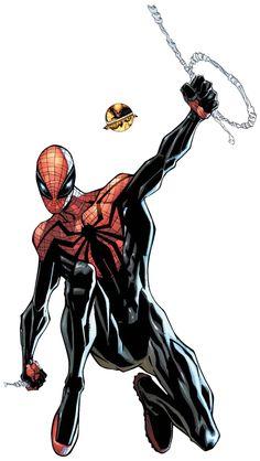 Spider-Man ¤° Render 71 by Tortuegfx on deviantART Marvel Comics Art, Manga Comics, Marvel Heroes, Spiderman Art, Amazing Spiderman, Spiderman Suits, Comic Books Art, Comic Art, The Superior Spider Man
