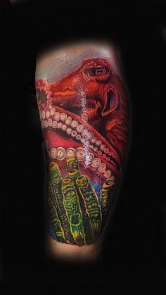 Greek god tattoo elite skin art oklahoma tattoos mike for Under the skin tattoo
