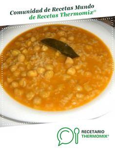 GARBANZOS CON ARROZ por carmenaranda. La receta de Thermomix<sup>®</sup> se encuentra en la categoría Potajes y platos de cuchara en www.recetario.es, de Thermomix<sup>®</sup> Sin Gluten, Food And Drink, Pasta, Cooking, Ethnic Recipes, Plate, Food Processor, Cooking Recipes, Kitchens
