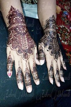 Henna wedding miss arum Perbedaan hasil warna setelah di buka