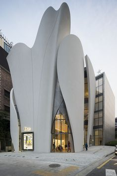 House of Dior - Seoul, Korea - Architect: Christian de Portzamparc #retail #iidagaforums