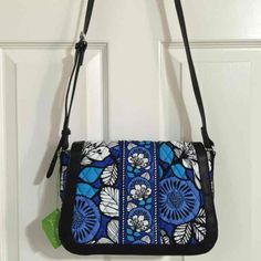 I just listed NEW Vera Bradley Crosstown Crossbody in Blue Bayou… ($48) on Mercari!  (MSRP $78) Come check it out!