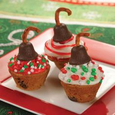 Cookie ornament cups