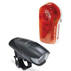 Planet Bike 3040 Superflash Tail Light and Blaze Headlight Light Set (642016304002) Combo bike light set with Superflash taillight and Blaze headlight Half-watt Blaze LED light provides wide visibility on the road or trail Superflash taillight includes 3 half-watt Blaze LEDs and 2 eXtreme LEDs Rear light includes bike mounts and clip mount for easy attachment Each light runs for up to 100 hours on single battery set