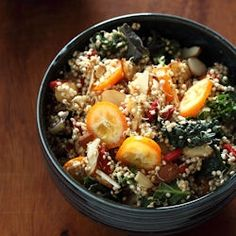 Sprouted Quinoa Salad - raw, vegan, gluten-free, and entirely customizable!