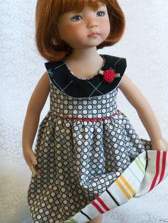 Spring Dress for Dianna Effner Little Darlings.