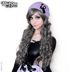 Gothic Lolita Wigs Store Classic Wavy Pewter, Silver, Gun Metal, Grey Hair Gyaru Medieval Renaissance Cheap Inexpensive Natural Looking Hairstyles