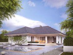 DOM.PL™ - Projekt domu MT Ambrozja 6 CE - DOM MS3-80 - gotowy koszt budowy Outdoor Decor, Home Decor, Houses, Decoration Home, Room Decor, Home Interior Design, Home Decoration, Interior Design