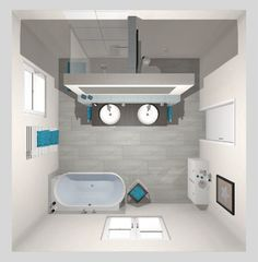 Frieling: Das moderne Bad mit T-Lösung – 16 qm Frieling: The modern bathroom with a T solution - 16