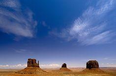 Monument Valley - Arizona (VS) van Edwin van Amstel, op dibond, canvas, ingelijst of als poster.