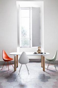 The Drop Chair by Fritz Hansen