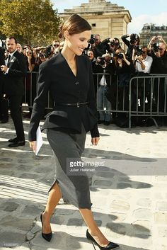 Photo d'actualité : Virginie Ledoyen attends the Christian Dior...