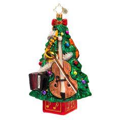 Christopher Radko Ornaments 2016 | Radko Christmas Tree Ornament Trees Tunes 1017396