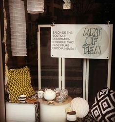 ART OF TEA  Salon de thé spécialisé / Boutique décoration ethnique chic Béziers Tea Art, Decoration, Boutique, Living Room, Decor, Decorations, Decorating, Boutiques, Dekoration