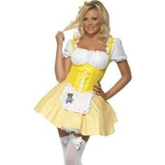 sexy goldilocks dress adult womens halloween costume - Goldilocks Halloween Costumes
