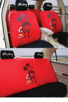 New Mickey Mouse Car Seat Covers 0206