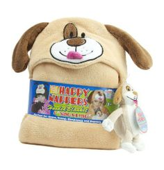 Happy Nappers Hooded Blanket and Sing-a-Long Puppy by Happy Napper. $11.24. Machine washable. Comes with musical plush toy. This cuddly pal will help your little one sleep tight, day or night! Happy Napper blankets feature fun characters made from soft, machine washable polyester that will keep you child warm and comfortable. Kids can snuggle up inside thanks to a generously sized hood and cuddle the adorable (and musical!) plush that comes with each blanket. Their puppy buddy i...