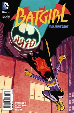 Batgirl #36 variant cover by Cliff Chiang