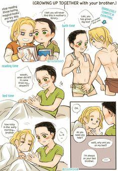 Youth || Thor & Loki || Cr: Yuushishio