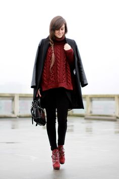 """Style Scrapbook: LOOK OF THE DAY """"THE FOG"""""""