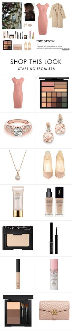 """""""The world is your oyster"""" by circe-1emon ❤ liked on Polyvore featuring Smashbox, BillyTheTree, Bloomingdale's, Christian Louboutin, Estée Lauder, Yves Saint Laurent, NARS Cosmetics, Giorgio Armani, Too Faced Cosmetics and MAC Cosmetics"""