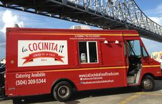 Rachel Billow and her business partner, Venezuelan chef Benoit Angulo, started their business in the Big Easy, where running a food truck actually. Best Food Trucks, Popular Recipes, Popular Food, Daily Meals, Make It Work, New Orleans, A Food, Catering, America