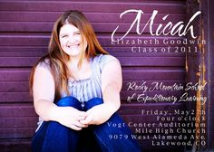 Sweet Purple Card Background Motive Style High School Graduation Invitation With White Word Color Types 30 Image Inspirations From High School Graduation Invitations Party Invitations