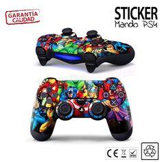 Funda vinilo carcasa Pegatina Sticker mando PS4 #vinilops4 #pegatinaps4 #PS4 #playstation4 #fundaPS4 #MandoPS4 #pegatinamandoPS4  #PS4LosVengadores