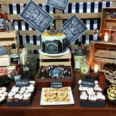 Bash Party Styling *'s Birthday / vintage barn - Photo Gallery at Catch My Party Jack Daniels Party, Festa Jack Daniels, Jack Daniels Birthday, Cowboy Theme Party, 90th Birthday Parties, Barn Parties, Daddy, Baby Shower, Kit