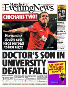 North and South front page - October 30, 2013
