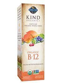 Garden of Life | Products for Life | Kind Organics B-12